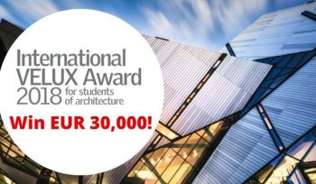 International VELUX Award for Worldwide Students of Architecture