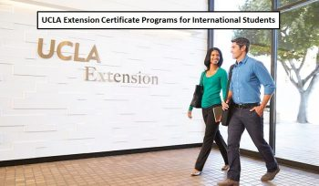 The University of California, Los Angeles Certificate Programs for International Students