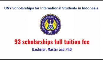 UNY Scholarships for International Students in Indonesia