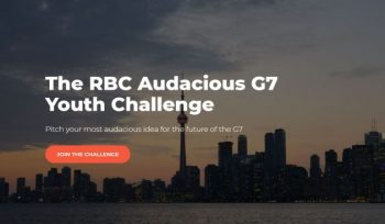 The RBC Audacious G7 Youth Challenge