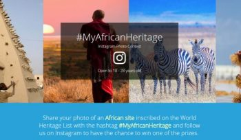 UNESCO African World Heritage Day Instagram Photo Contest