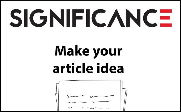 Significance Writing Competition for Early-Career Statisticians