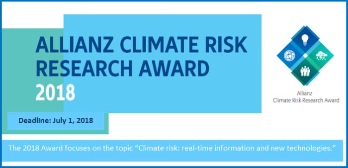 Allianz Climate Risk Research Award