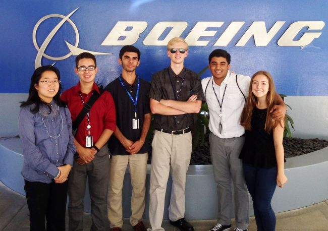 Boeing Internships in the United States