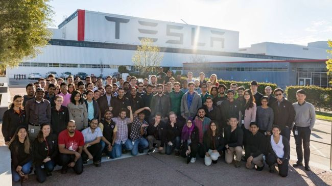 Tesla Internships in the United States