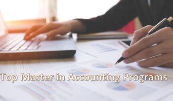 Top Master in Accounting Programs