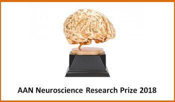 AAN Neuroscience Research Prize 2018