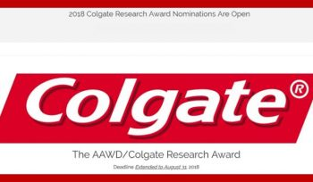 The AAWD/Colgate ResearchAward