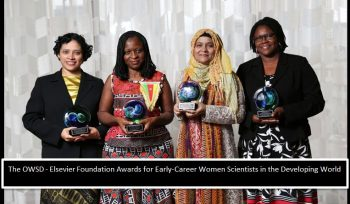 The OWSD - Elsevier Foundation Awards for Early-Career Women Scientists in the Developing World