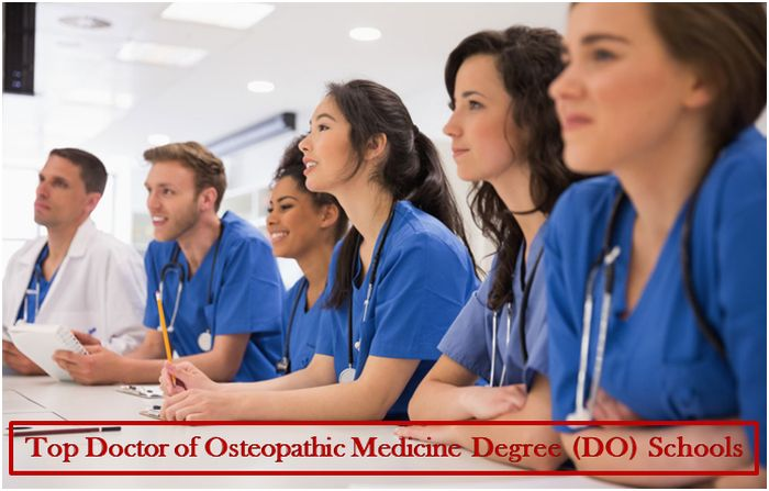 Top Doctor of Osteopathic Medicine Degree (DO) Schools