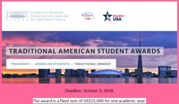 Traditional American Student Awards