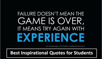 Best Inspirational Quotes for Students