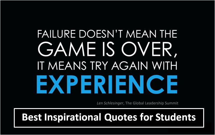 Encouraging Quotes For Students Unique Best Inspirational Quotes For Students 48 48 HelpToStudy