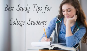 Best Study Tips for College Students