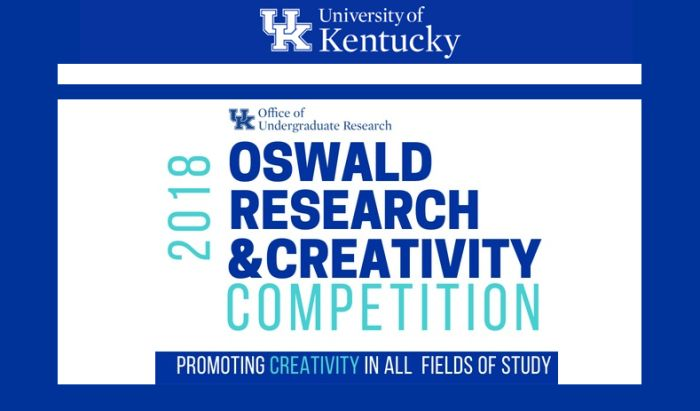 Oswald Research and Creativity Competition