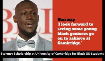 Stormzy Scholarship for Black UK Students