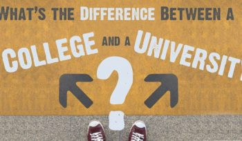 What is the Difference Between a University and a College?