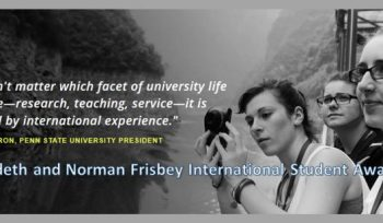 Ardeth and Norman Frisbey International Student Awards
