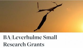 BA/Leverhulme Small Research Grants