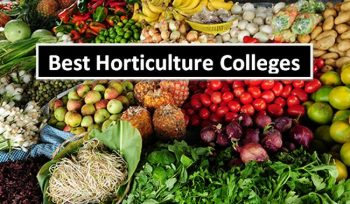 Best Horticulture Colleges