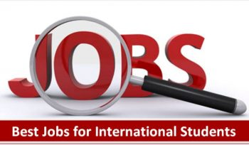 Best Jobs for International Students