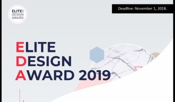 Elite Design Award 2019
