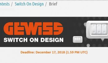 GEWISS - Switch on Design - Product Design Contest