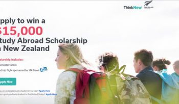 Go Overseas Study Abroad Scholarship in New Zealand