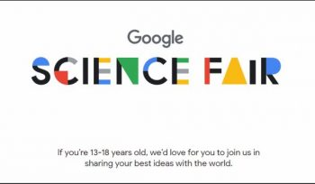 Google Science Fair 2018 for International Students