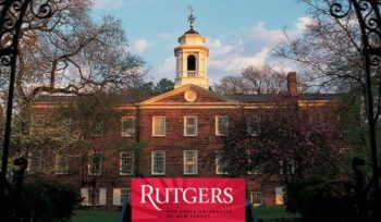 Rutgers University Acceptance Rate 2018-2019