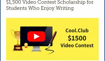 Video Contest Scholarship for Students Who Enjoy Writing