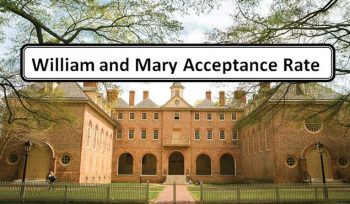 William and Mary Acceptance Rate