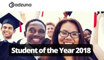 Adzuna Student of the Year Award 2018