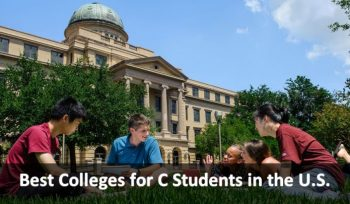 Best Colleges for C Students in the U.S.