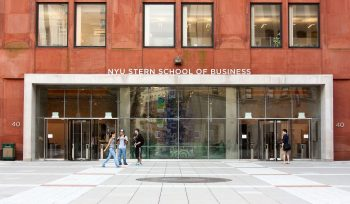 NYU Stern School of Business Acceptance Rate 2018-2019