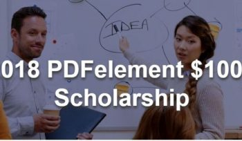 PDFelement Scholarship Contest 2018