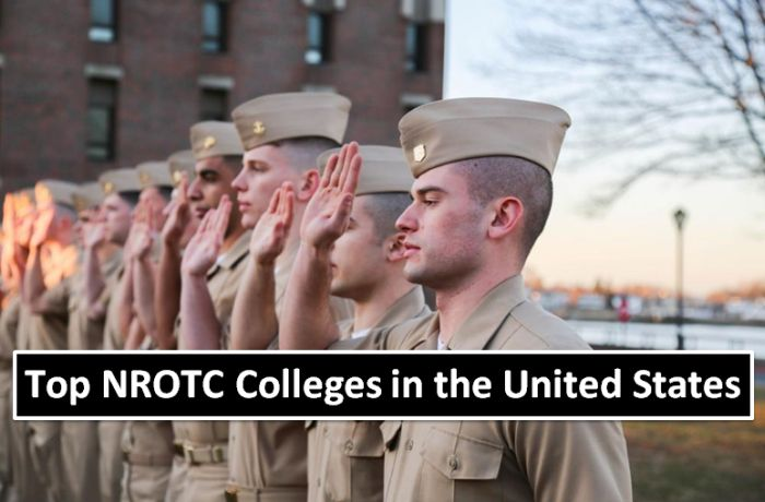 Top NROTC Colleges in the United States