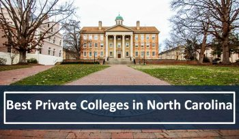 Best Private Colleges in North Carolina