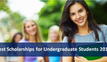 Best Scholarships for Undergraduate Students 2019