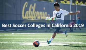 Best Soccer Colleges in California 2019