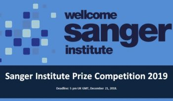 Sanger Institute Prize Competition 2019