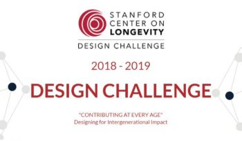 "Stanford ""Contributing at Every Age"" Design Challenge"