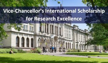 Vice-Chancellor's International Scholarship for Research Excellence