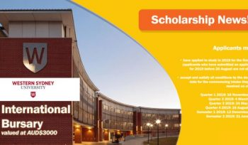 Western Sydney International Bursary