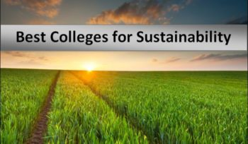 Best Colleges for Sustainability