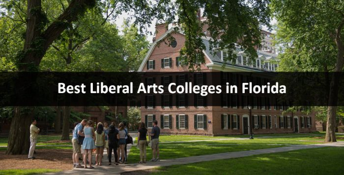 Best Liberal Arts Colleges in Florida 2019
