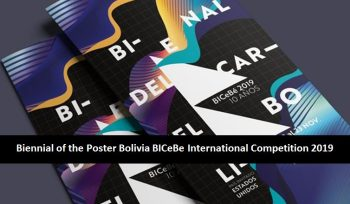 Biennial of the Poster Bolivia BICeBe International Competition 2019
