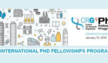 CRG International Ph.D. Fellowships Program