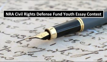 NRA Civil Rights Defense Fund Youth Essay Contest