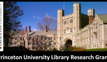 Princeton University Library Research Grant